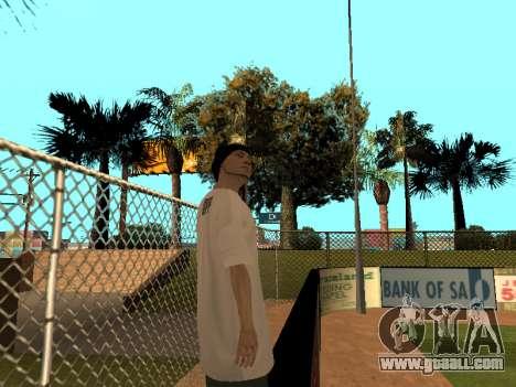 Skin Tracer GPF Team for GTA San Andreas forth screenshot