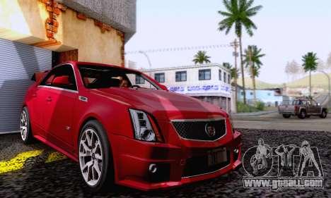 Cadillac CTS-V Sedan 2009-2014 for GTA San Andreas side view