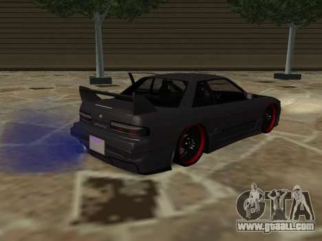 Nissan s13 stock fusion for GTA San Andreas left view