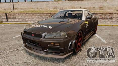 Nissan Skyline GT-R NISMO S-tune Amuse Carbon R for GTA 4