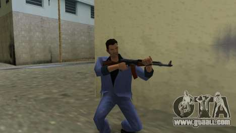Kalashnikov Modernized for GTA Vice City second screenshot