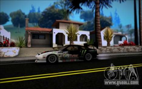 Nissan 240SX Monster Energy for GTA San Andreas right view