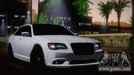 Chrysler 300 SRT8 Black Vapor Edition for GTA San Andreas back left view