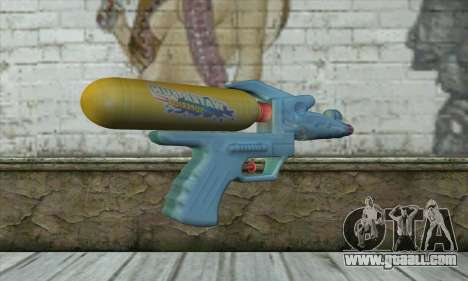 Water Gun for GTA San Andreas second screenshot