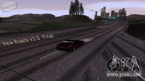 New Roads v3.0 Final for GTA San Andreas