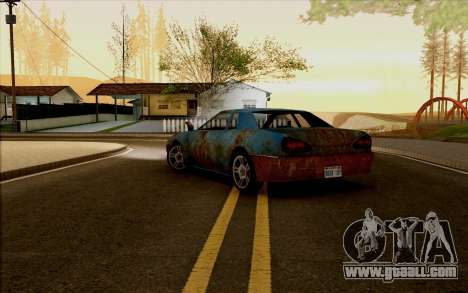 Elegy by Swizzy for GTA San Andreas left view