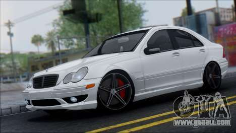 Mercedes-Benz C32 Vossen for GTA San Andreas