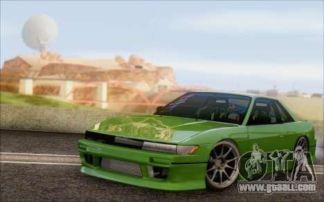 Nissan Silvia S13 Vertex for GTA San Andreas
