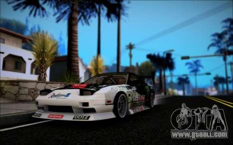 Nissan 240SX Monster Energy for GTA San Andreas