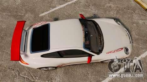 Porsche 997 Carrera GT3 RS for GTA 4 right view
