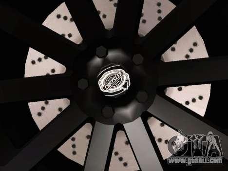 Chrysler 300 SRT8 Black Vapor Edition for GTA San Andreas side view