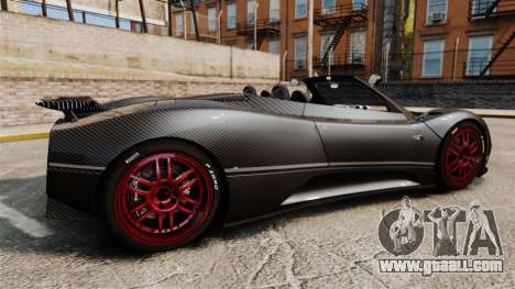 Pagani Zonda C12 S Roadster 2001 PJ3 for GTA 4 left view