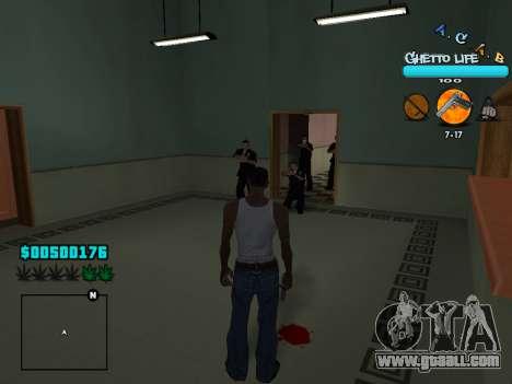 C-HUD new A.C.A.B for GTA San Andreas fifth screenshot