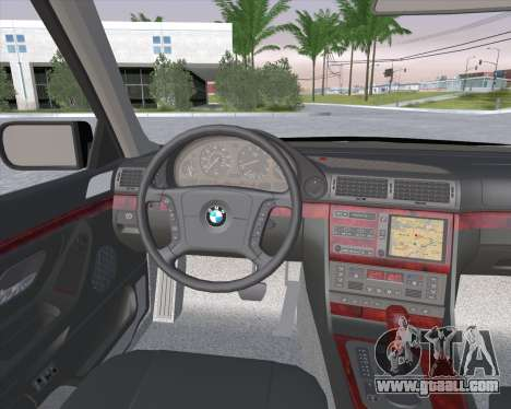 BMW 7-series E38 for GTA San Andreas right view