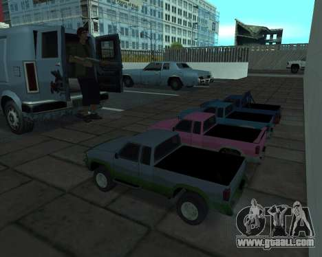 RC Pickup Off Road for GTA San Andreas back left view