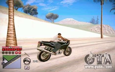 C-HUD by ComPot for GTA San Andreas forth screenshot