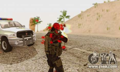 Blood On Screen for GTA San Andreas eighth screenshot