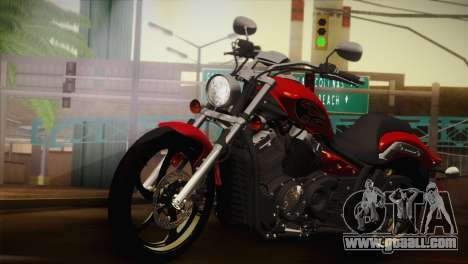 Yamaha Star Stryker 2012 for GTA San Andreas