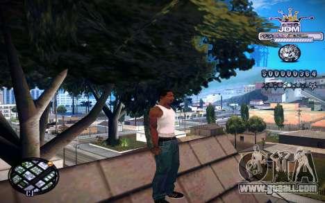 C-HUD JDM for GTA San Andreas third screenshot