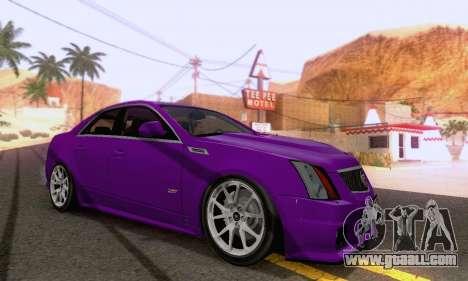Cadillac CTS-V Sedan 2009-2014 for GTA San Andreas right view