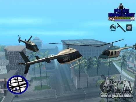 С-Hud Police Department for GTA San Andreas fifth screenshot