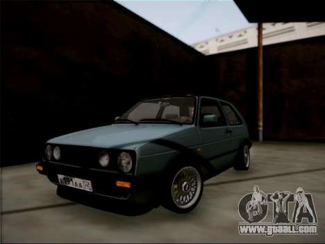 Volkswagen Golf for GTA San Andreas left view