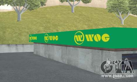 Filling in the style of WOG for GTA San Andreas seventh screenshot