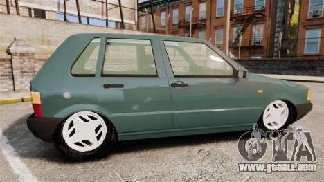 Fiat Uno for GTA 4 left view