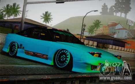 Nissan 240SX Drift Stance for GTA San Andreas