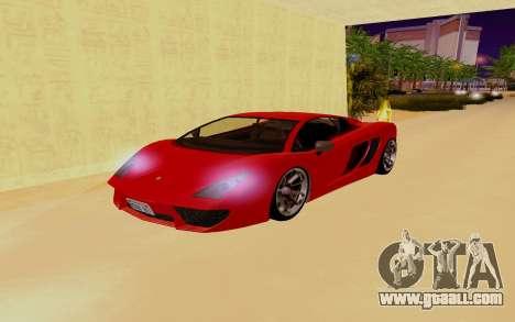 GTA 5 Pegassi Vacca for GTA San Andreas bottom view