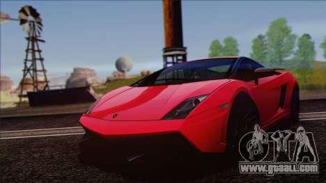 Lamborghini Gallardo LP570-4 Edizione Tecnica for GTA San Andreas back view