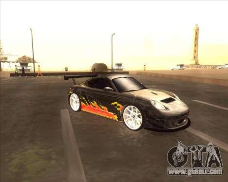 Porshe Cayman S из NFS MW for GTA San Andreas