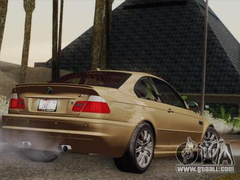 BMW M3 E46 2005 for GTA San Andreas right view