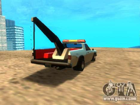 New Tow (Picador) for GTA San Andreas right view