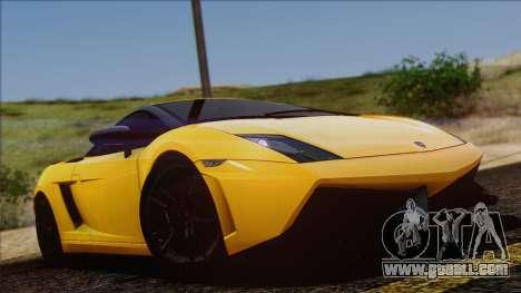 Lamborghini Gallardo LP570-4 Edizione Tecnica for GTA San Andreas side view