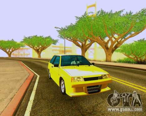 VAZ 2108 Tuneable for GTA San Andreas left view
