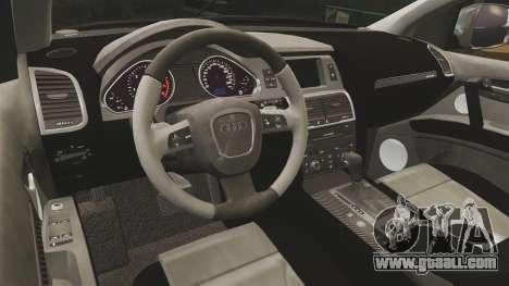 Audi Q7 TEK [ELS] for GTA 4 side view