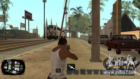 C-HUD Kings of Rap for GTA San Andreas fifth screenshot