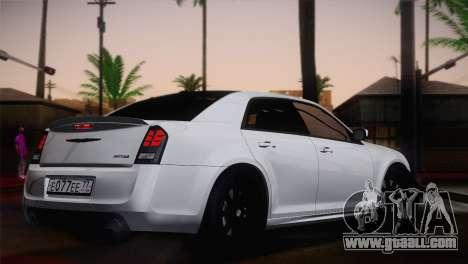 Chrysler 300 SRT8 Black Vapor Edition for GTA San Andreas left view