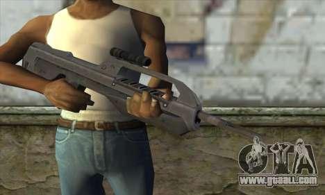 Halo 2 Battle Rifle for GTA San Andreas third screenshot