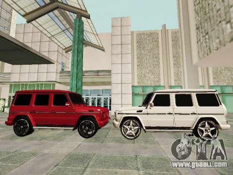 Mercedes-Benz G500 for GTA San Andreas engine