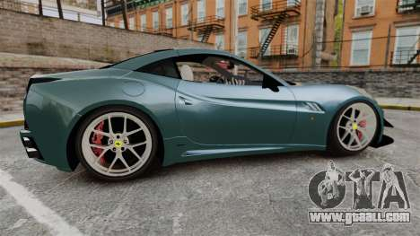 Ferrari California for GTA 4 left view