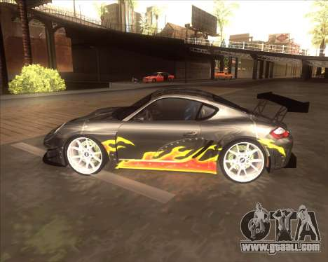 Porshe Cayman S из NFS MW for GTA San Andreas back left view