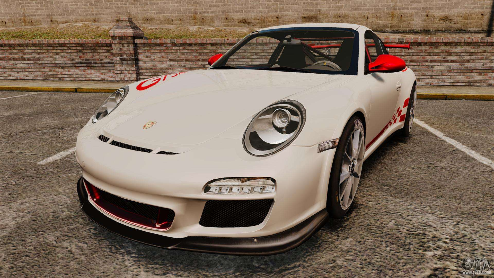 porsche 997 carrera gt3 rs for gta 4. Black Bedroom Furniture Sets. Home Design Ideas