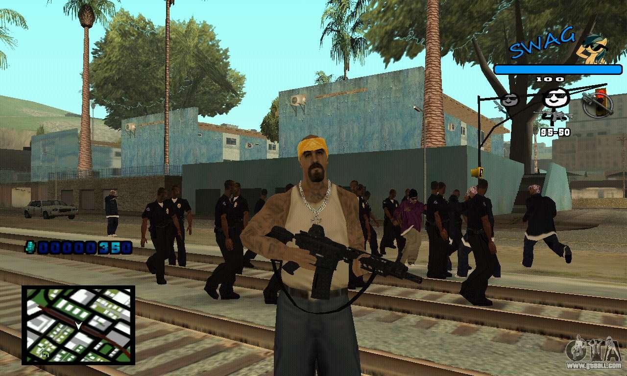 C Hud Swag For Gta San Andreas