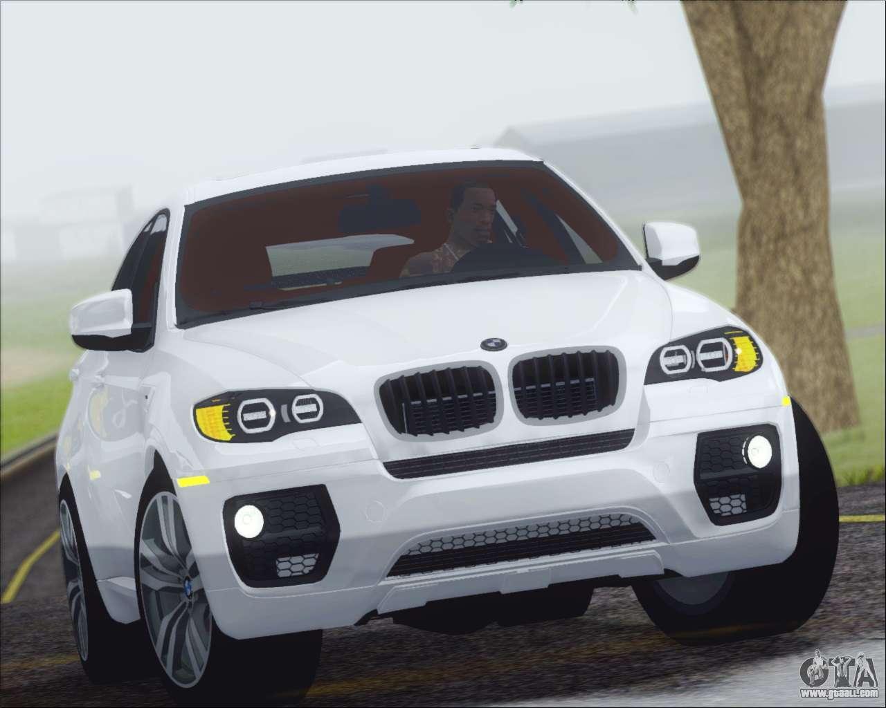 Bmw Full Form >> BMW X6 M 2013 Final for GTA San Andreas