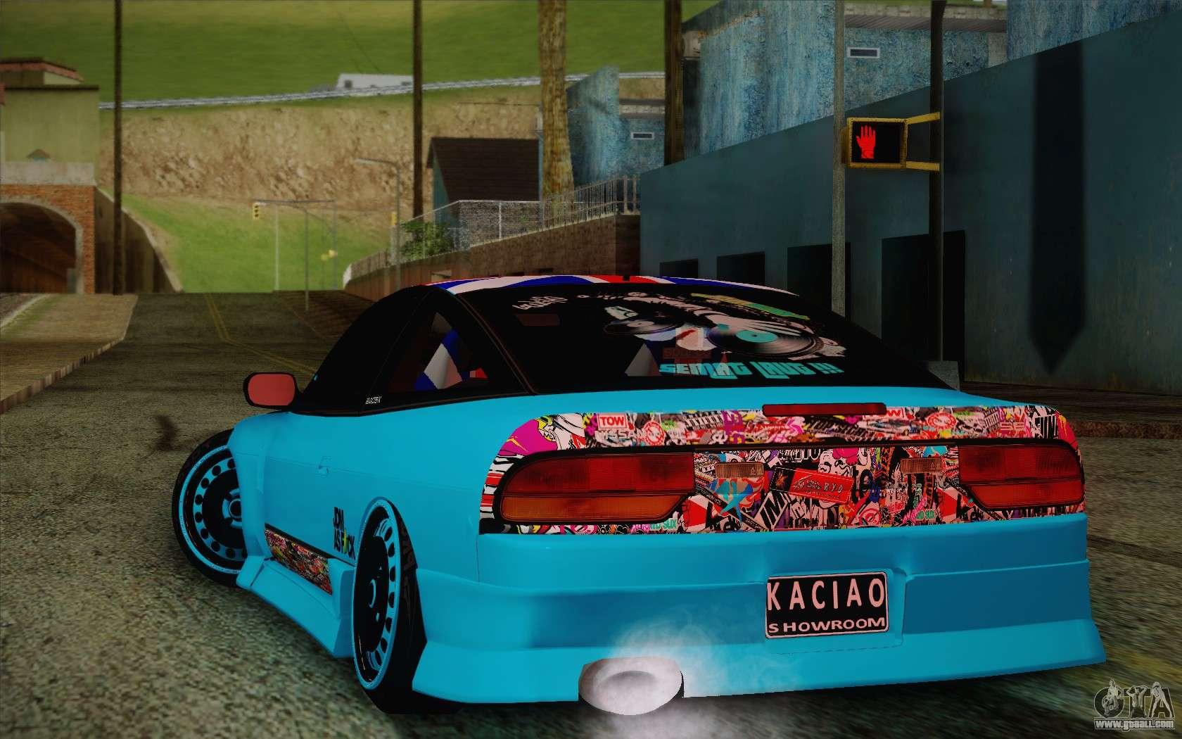 Nissan Drift Stance For Gta San Andreas