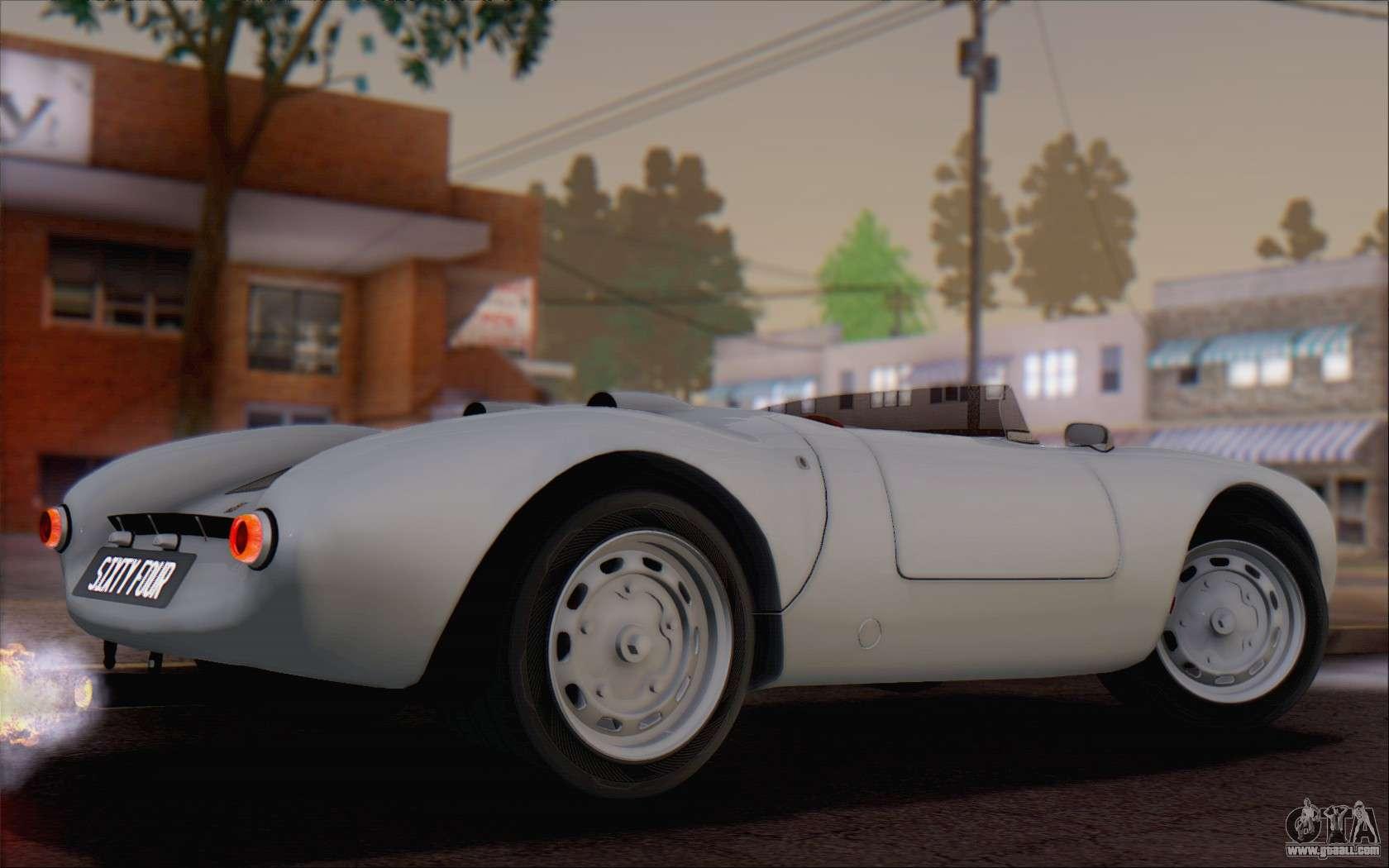 porsche 550 spyder 1955 for gta san andreas - Porsche Spyder 550 2014