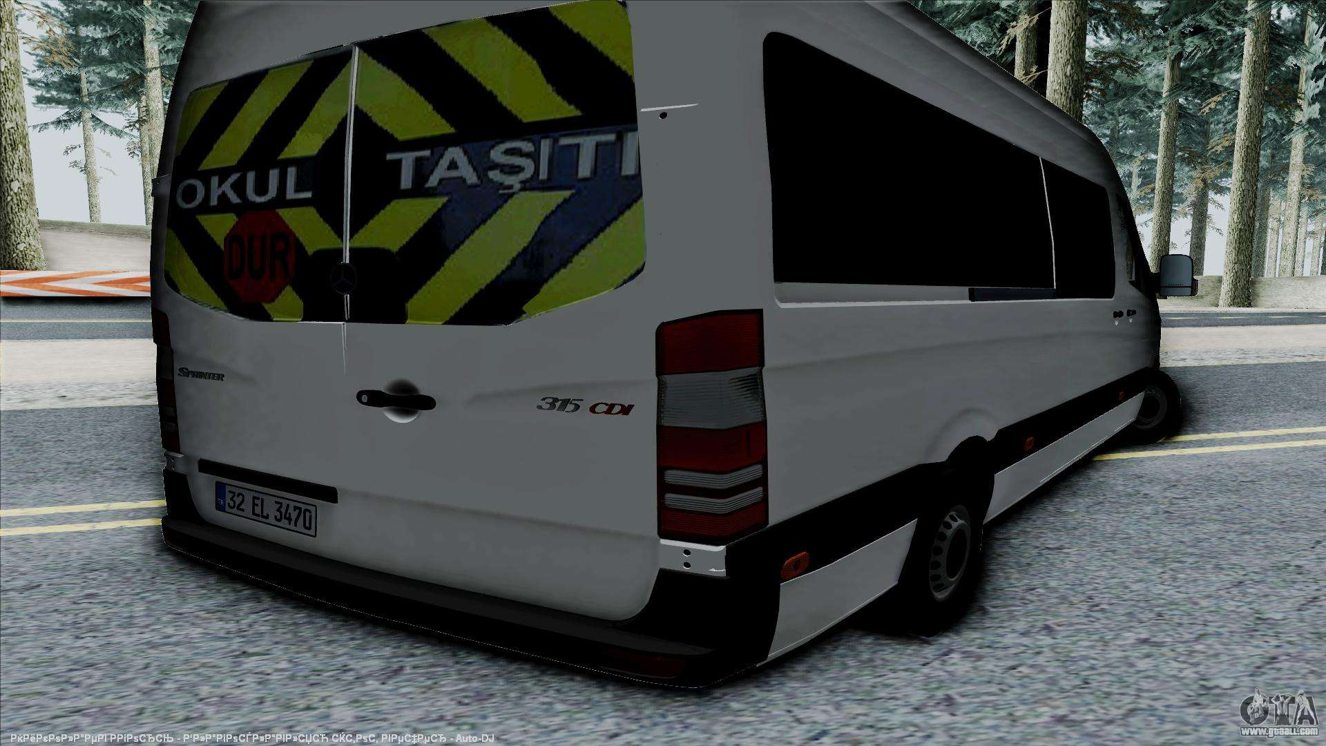 mercedes benz sprinter 315 cdi for gta san andreas. Black Bedroom Furniture Sets. Home Design Ideas