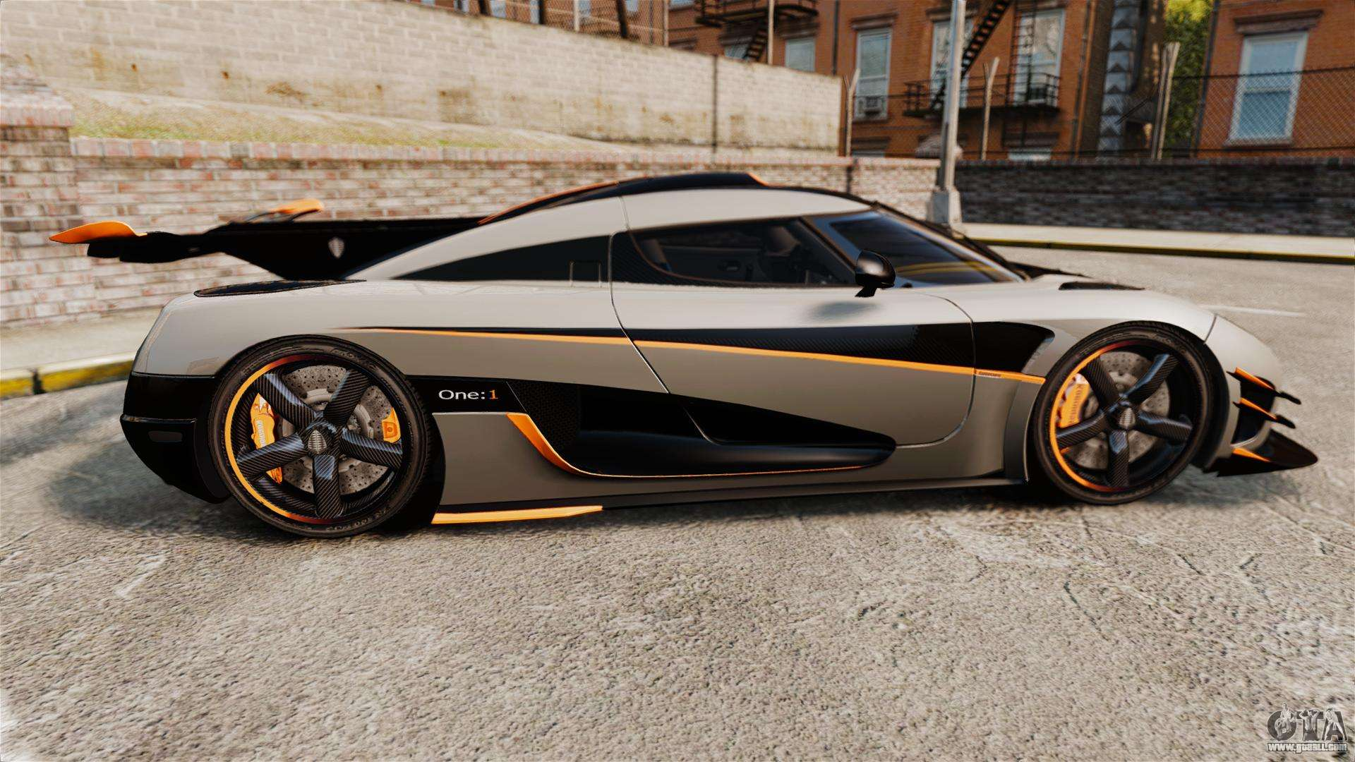 Koenigsegg One 1 Epm For Gta 4
